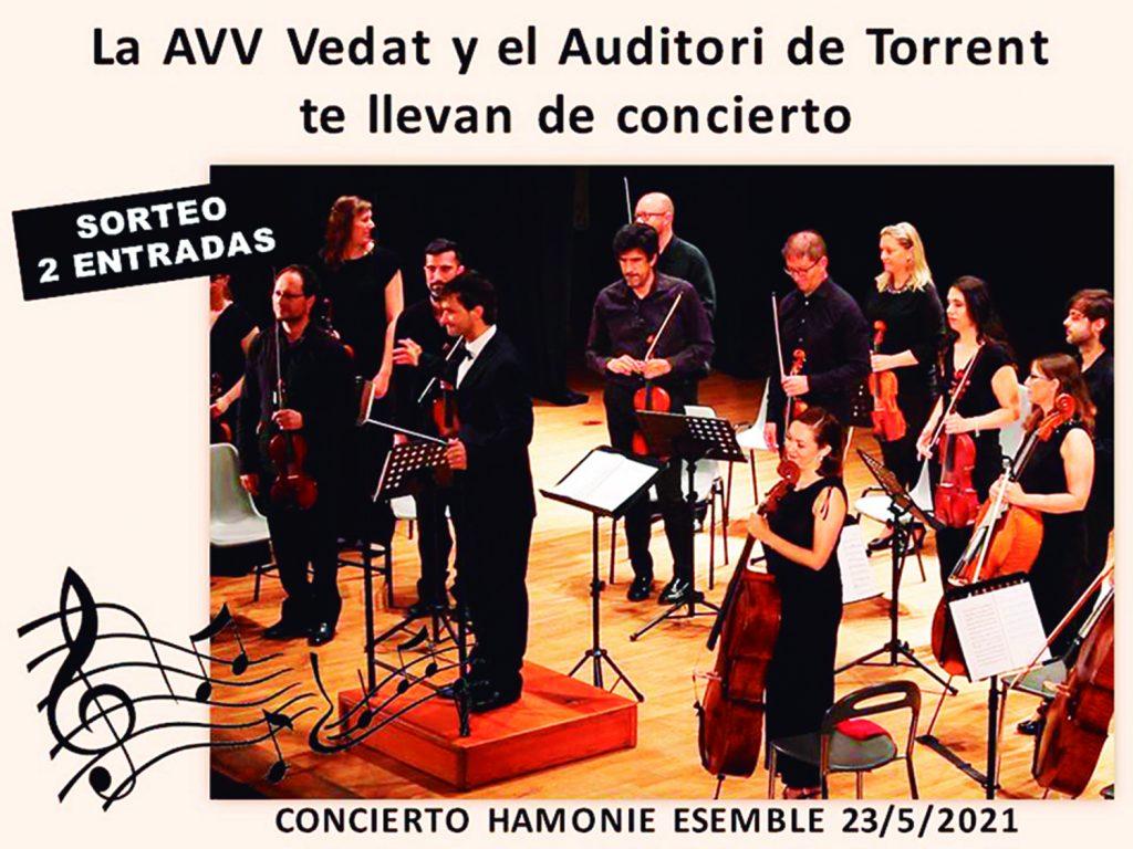 Sorteo_Concierto_Harmonie-AVVVEDAT