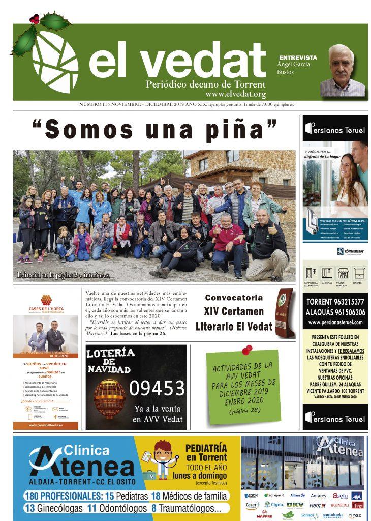 PORTADA_ED_116_PERIODICO_EL_VEDAT